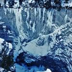 Vue d'ensemble du secteur, Glacenost, cascade de glace Haute-Maurienne