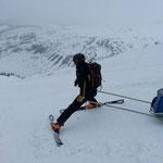 Mon boulot de pisteur secouriste, Matthieu Brignon guide à Aussois en Haute-Maurienne