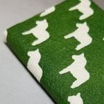 和紙名刺入れ緑拡大