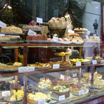 Vitrine de gâteaux