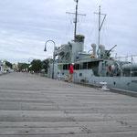 le HMS Castlemaine