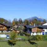 Ausblick Apartment Untersberg