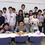 Group photo of OPU staffs.
