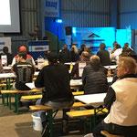 Interessierte Zuhörer beim Votrag zu Knauf Mineral Aktiv.