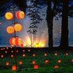 Lichterfest, Kurpark Bad Bellingen