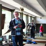 Werner Homberger Matchchef und Organisator
