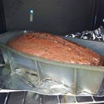 Herrlich, unser erster Kuchen
