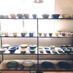 andRさん、9月の展示。菅谷太良さんの器