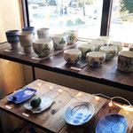 andRさん12月の展示 shima craftさんの作品は、灯環さんでも、陶とくらしでも買い揃えました。