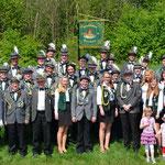 ehemalige Jungschützenkönige und derzeitige Jungschützen 2014