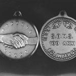 Medaglia commemorativa dei 100 anni