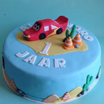 Cars taart