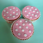 Stippen cupcakes