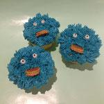 Koekiemonster cupcakes