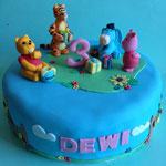 Winnie Pooh taart