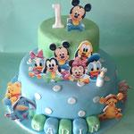 Baby Disney taart