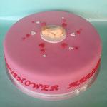 Babyshower taart meisje