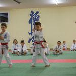 Kinderprüfung KDO, Niklas und Elias 8 Kyu