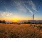 Sonnenaufgang von der Ammerbacher Platte
