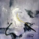 Luigi Brolese-vibrazioni_acrilico su tela - 60x50 - 2014