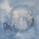 Luigi Brolese - trasparenze - acrilico e olio su tela - 60x60 - 2013