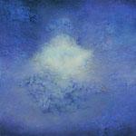 Giuditta Dessy - La via della conoscenza: Illuminazione - Olio su tela - cm 80 x 80