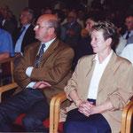 Pol Sanspoux et son épouse