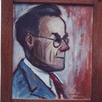 Walter Van Bellinghen, artiste nivellois et ami d'Octave Sanspoux