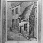 La rue du Géant (photo d'archives d'un tableau dont je ne connais pas le propriétaire)