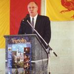 Michel Lebrun, ministre de l'Aménagement du Territoire, de l'Équipement et des Transports de la Région wallonne