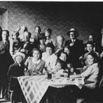 Photo prise en août 1940 à Mirepoix à la veille du retour vers Nivelles.