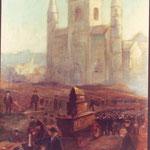 Le Tour Sainte-Gertrude après la guerre