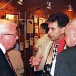 Louis Genty, Philippe Sanspoux et Willy Chaufoureaux