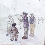 Les stratèges du parc - 1918