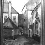 """Les """" Champs retiré """" (rue des Brasseurs) (photo d'archives d'un tableau dont je ne connais pas le propriétaire)"""