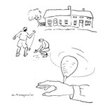 """1945 - Paru dans """"Ene kèrtinèye dè fleûrs"""", anthologie wallonne, pour illustrer un texte de Georges Willame intitulé """"In baudet d'cindreû"""""""