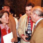Une rencontre inattendue : Pol Sanspoux et Maureen, la fille de sa cousine Lucienne Sanspoux. Ils ne s'étaient jamais vus !