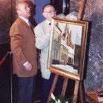 Pol Sanspoux et Albert Hanse