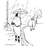 """1945 - Paru dans """"Ene kèrtinèye dè fleûrs"""", anthologie wallonne, pour illustrer un texte de Maurice Francq intitulé """"Octôbe..."""""""