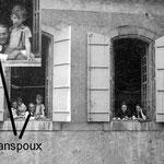 """Octave Sanspoux et sa famille étaient hébergé à Mirepoix dans """"La Cour pons Tande"""""""
