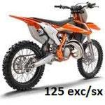 Cliquez ici pour accéder aux protections de 125 exc/sx