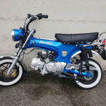 Skymax Blau & Chrom mit Weisswandreifen (Aufpreis) L