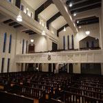 礼拝堂三階ギャラリー