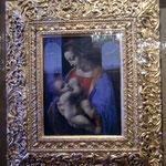 エルミタージュ美術館ダビンチ。リッタの聖母子