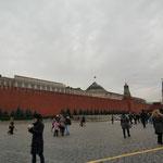赤の広場(ロシアでは赤は美しい色です=美しい広場)