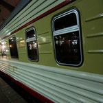 グランドエクスプレス(モスクワ⇔St.ペテルスグルグ700km一晩)