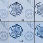 Bei 400mm ist ein direkter Vergleich beider Objektive möglich und zeigt vergleichbare Ergebnisse der optischen Qualität.