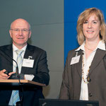 Frau Spahl und Herr Dr. Möbus (DAWSE)