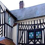 Maison à colombages dans le Vieux Saint-Valery