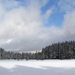 winterlicher Fichtelsee